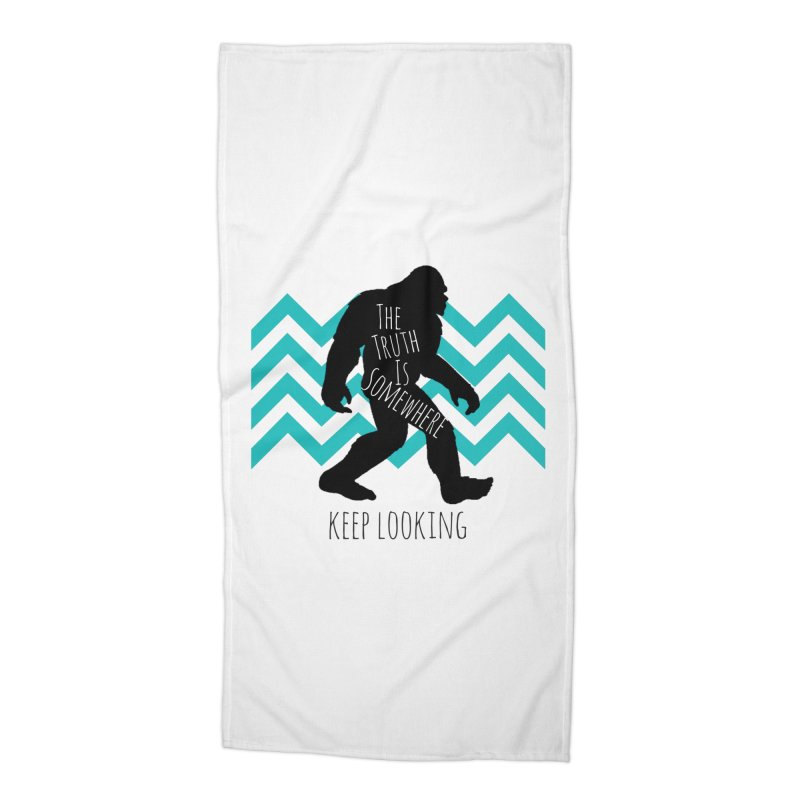 Keep Looking Accessories Beach Towel by The Truth Is Somewhere