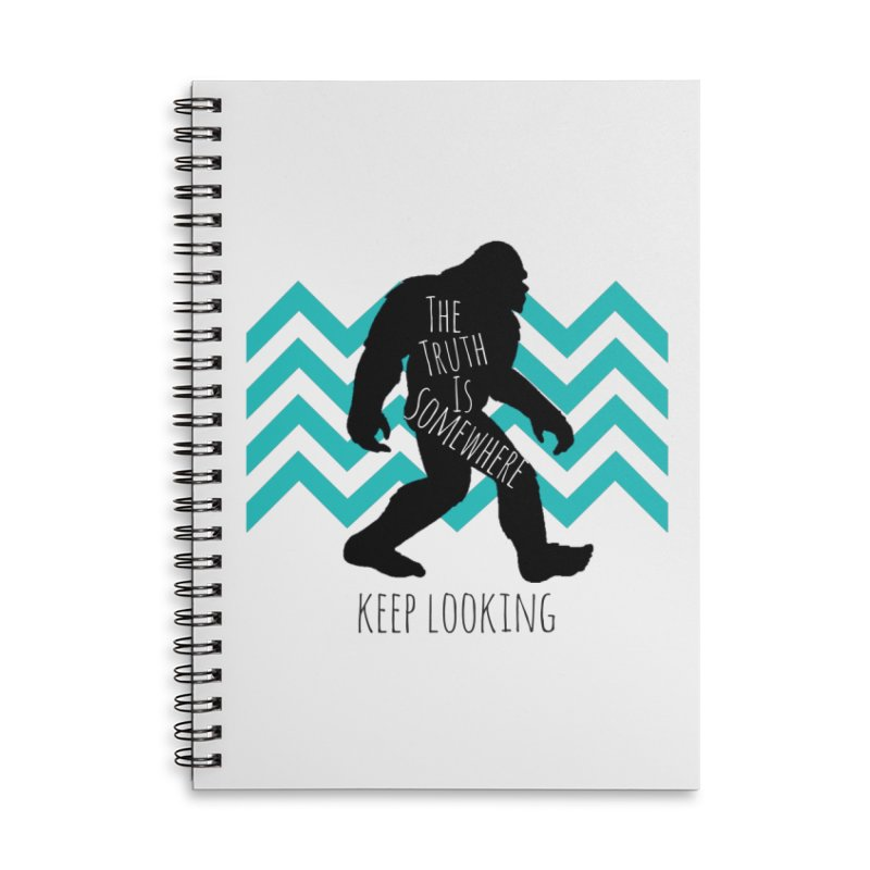 Keep Looking Accessories Notebook by The Truth Is Somewhere