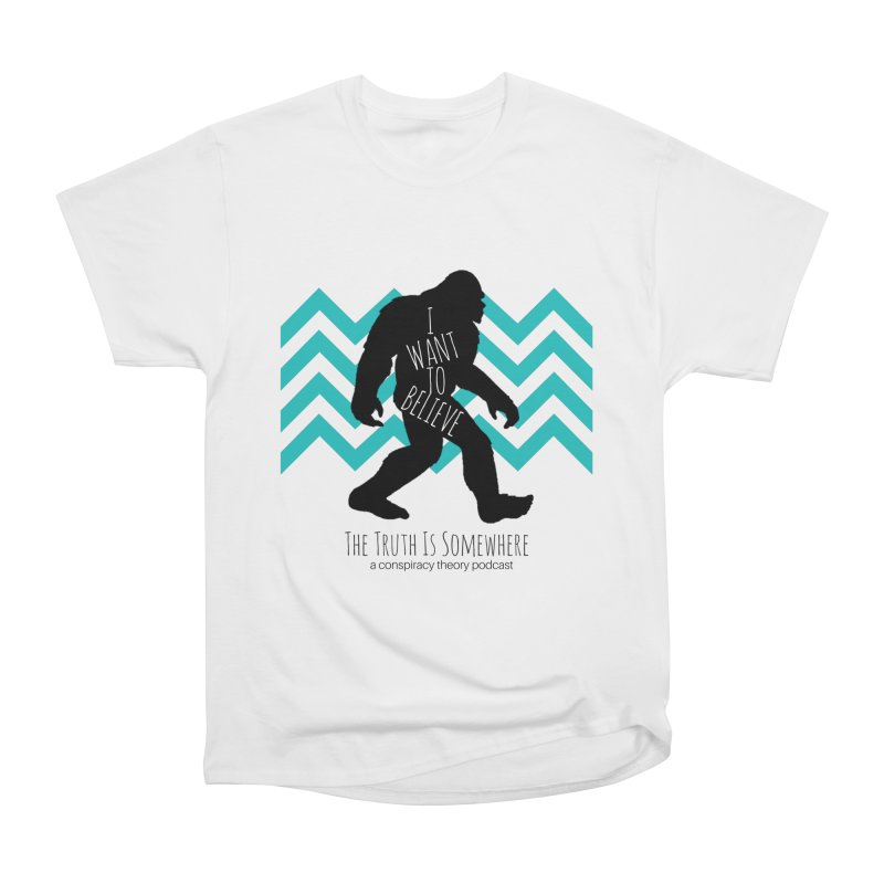 I Want To Believe Men's T-Shirt by The Truth Is Somewhere