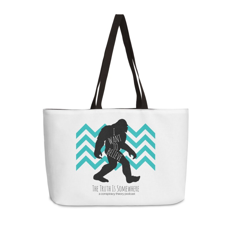 I Want To Believe Accessories Weekender Bag Bag by The Truth Is Somewhere