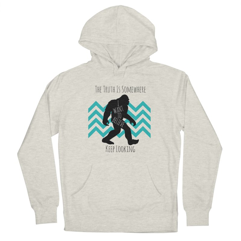 Look and Believe Men's Pullover Hoody by The Truth Is Somewhere