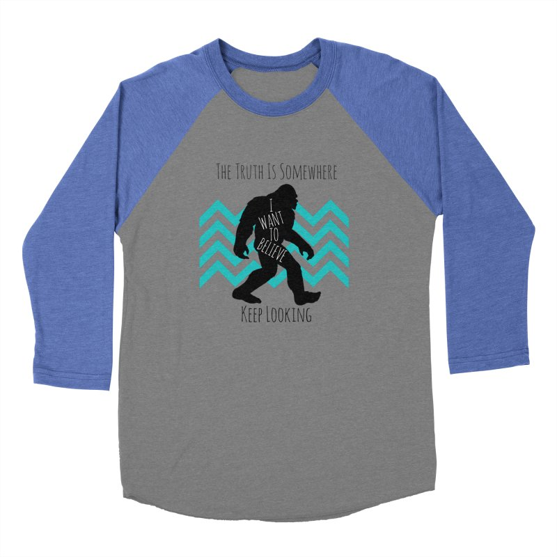 Look and Believe Men's Baseball Triblend Longsleeve T-Shirt by The Truth Is Somewhere