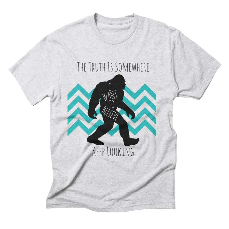 Look and Believe Men's Triblend T-Shirt by The Truth Is Somewhere