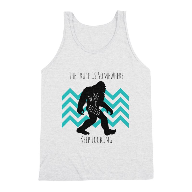 Look and Believe Men's Tank by The Truth Is Somewhere
