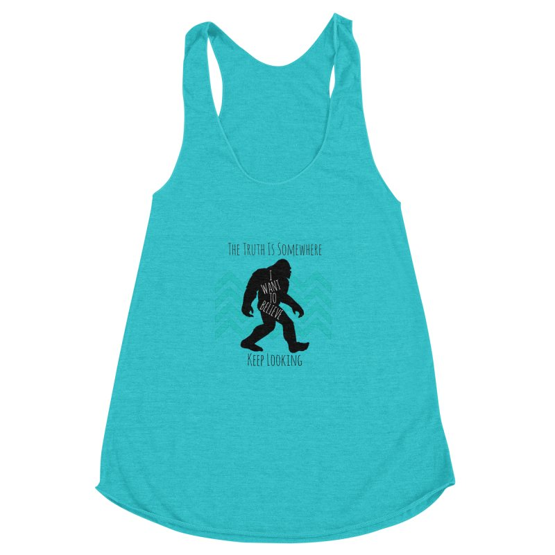 Look and Believe Women's Racerback Triblend Tank by The Truth Is Somewhere