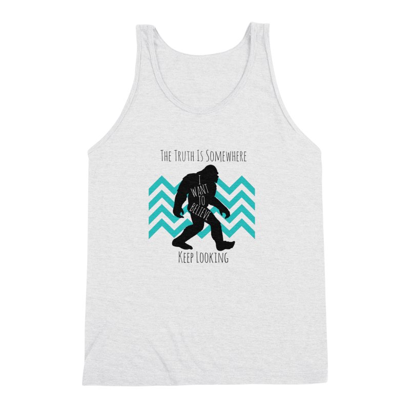 Look and Believe Men's Triblend Tank by The Truth Is Somewhere