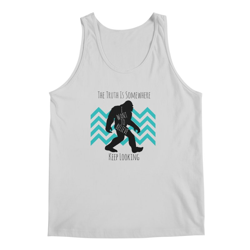 Look and Believe Men's Regular Tank by The Truth Is Somewhere