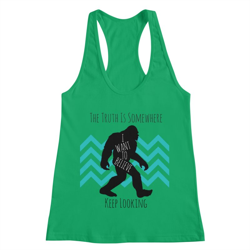 Look and Believe Women's Racerback Tank by The Truth Is Somewhere