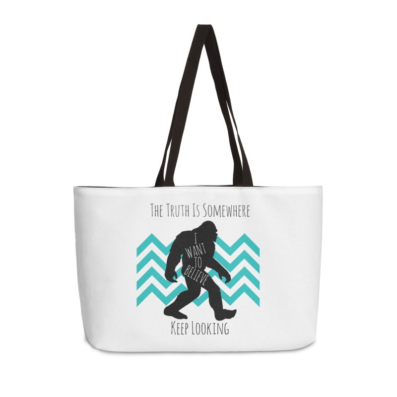 Look and Believe Accessories Weekender Bag Bag by The Truth Is Somewhere