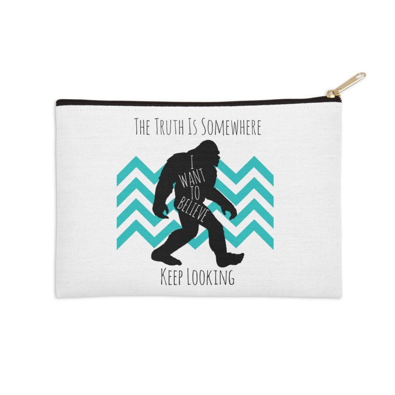 Look and Believe Accessories Zip Pouch by The Truth Is Somewhere