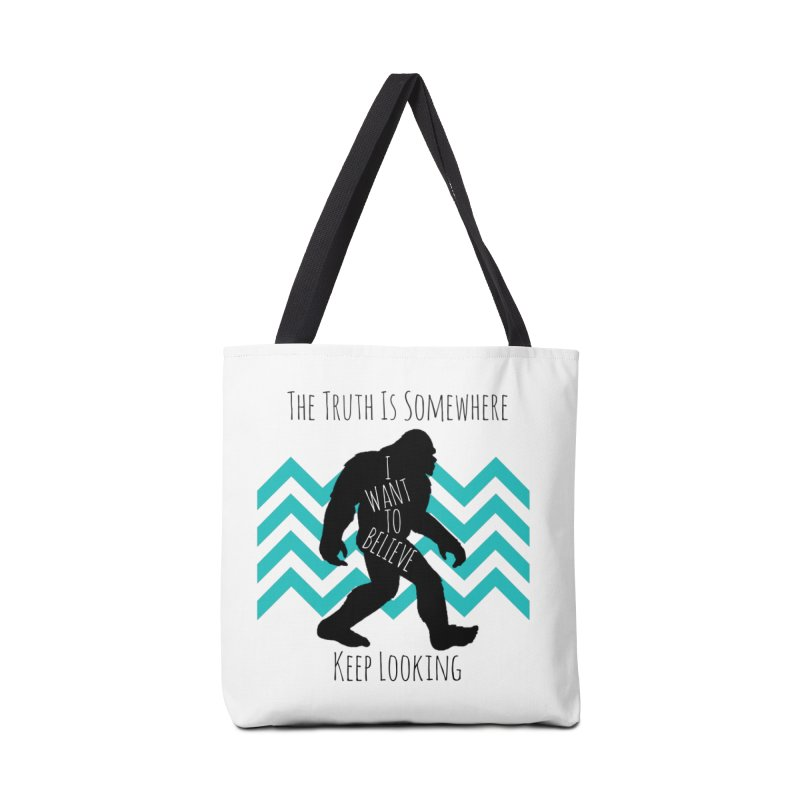 Look and Believe Accessories Tote Bag Bag by The Truth Is Somewhere