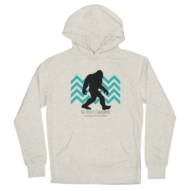 Bigfoot Is Somewhere Men's Pullover Hoody by The Truth Is Somewhere