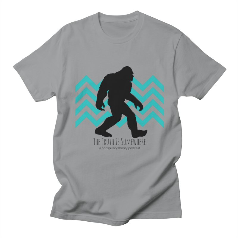 Bigfoot Is Somewhere Men's T-Shirt by The Truth Is Somewhere