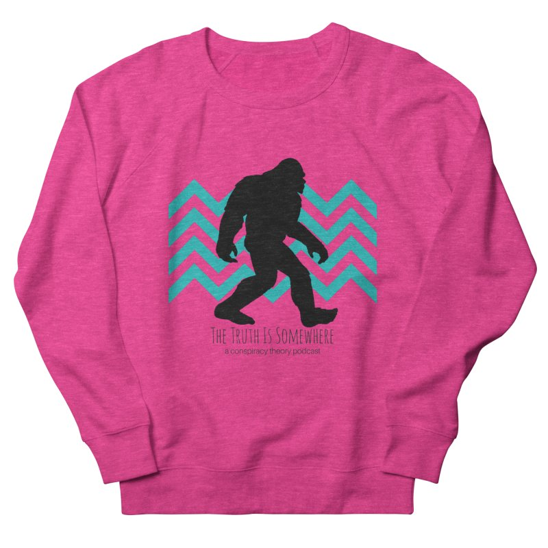 Bigfoot Is Somewhere Men's Sweatshirt by The Truth Is Somewhere