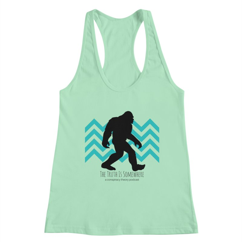 Bigfoot Is Somewhere Women's Tank by The Truth Is Somewhere