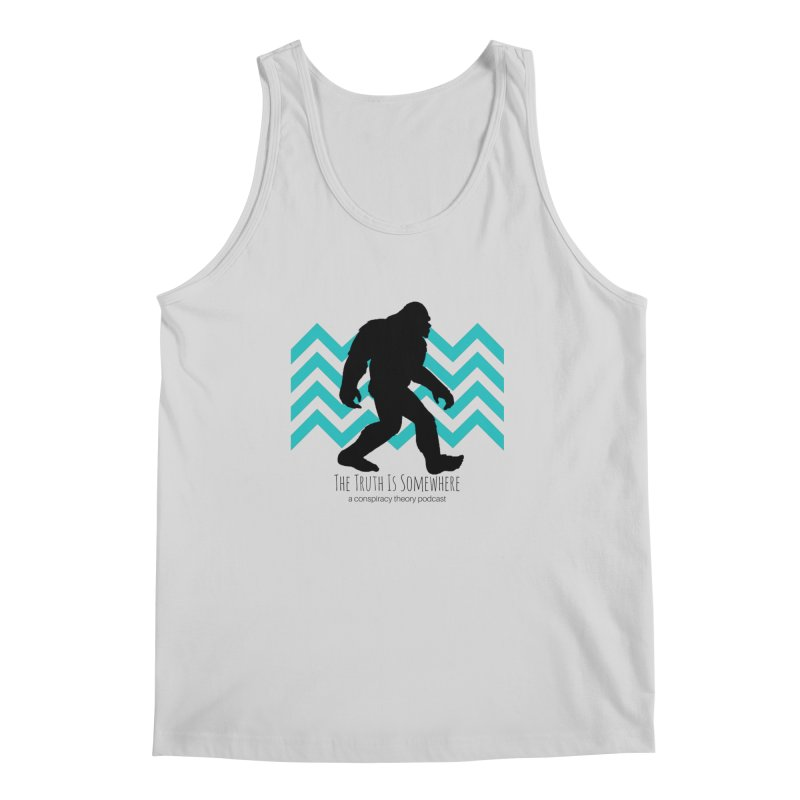 Bigfoot Is Somewhere Men's Regular Tank by The Truth Is Somewhere