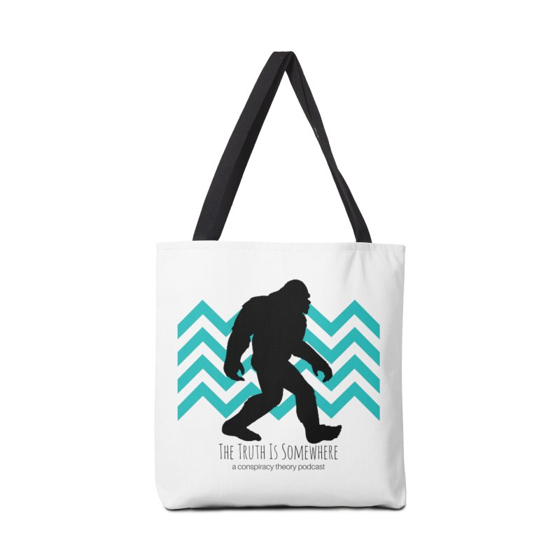 Bigfoot Is Somewhere Accessories Bag by The Truth Is Somewhere