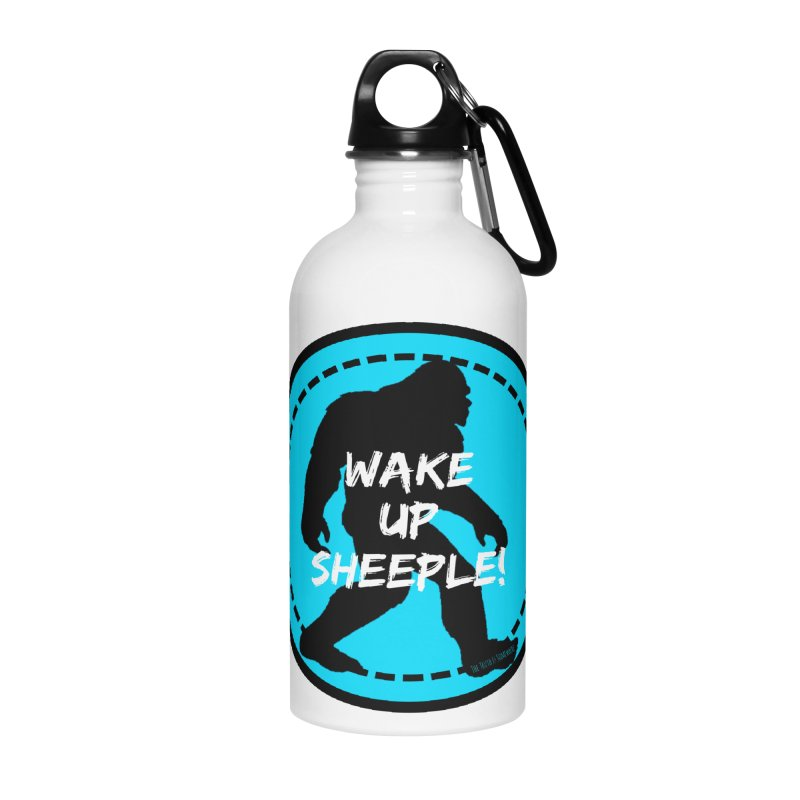 Wake Up Sheeple! Accessories Water Bottle by The Truth Is Somewhere