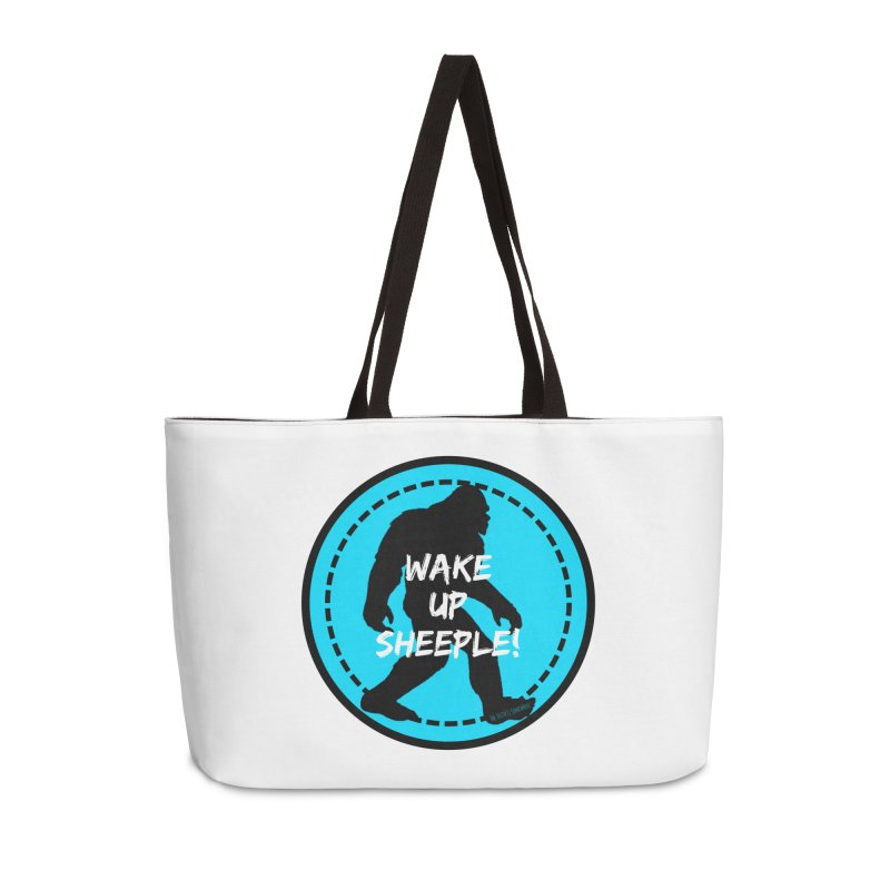Wake Up Sheeple! Accessories Weekender Bag Bag by The Truth Is Somewhere