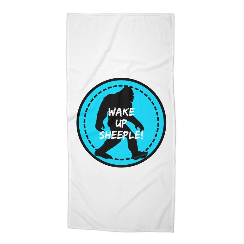 Wake Up Sheeple! Accessories Beach Towel by The Truth Is Somewhere