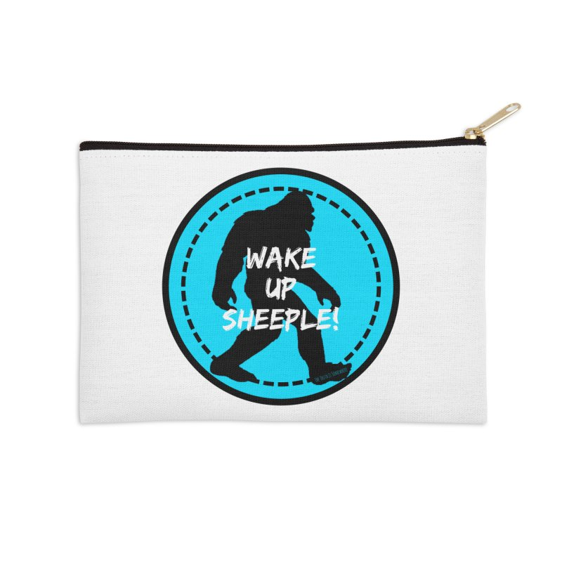 Wake Up Sheeple! Accessories Zip Pouch by The Truth Is Somewhere