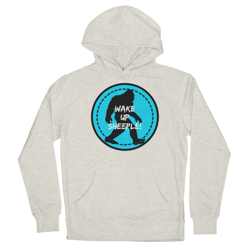 Wake Up Sheeple! Men's Pullover Hoody by The Truth Is Somewhere