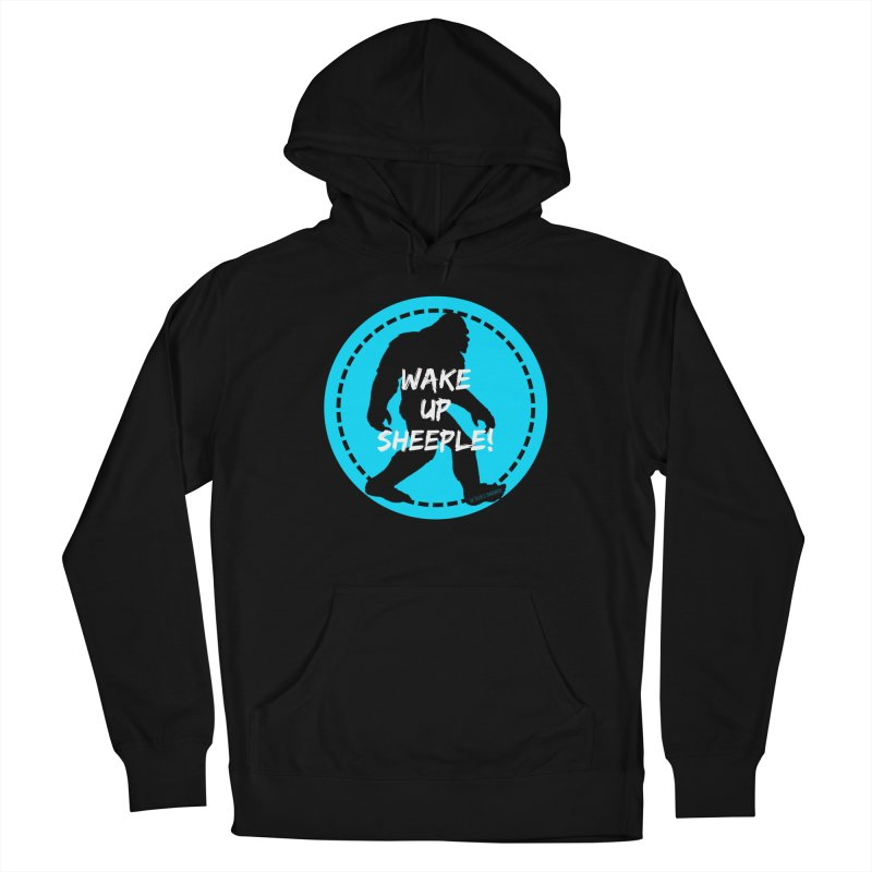 Wake Up Sheeple! Men's French Terry Pullover Hoody by The Truth Is Somewhere