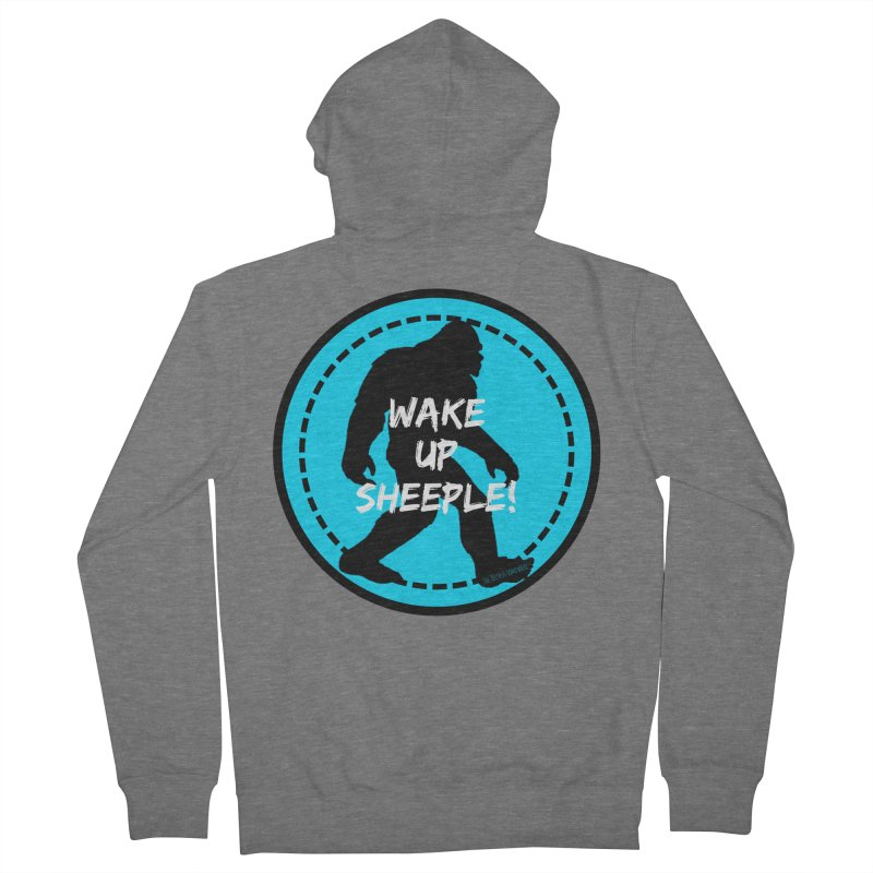 Wake Up Sheeple! Women's Zip-Up Hoody by The Truth Is Somewhere