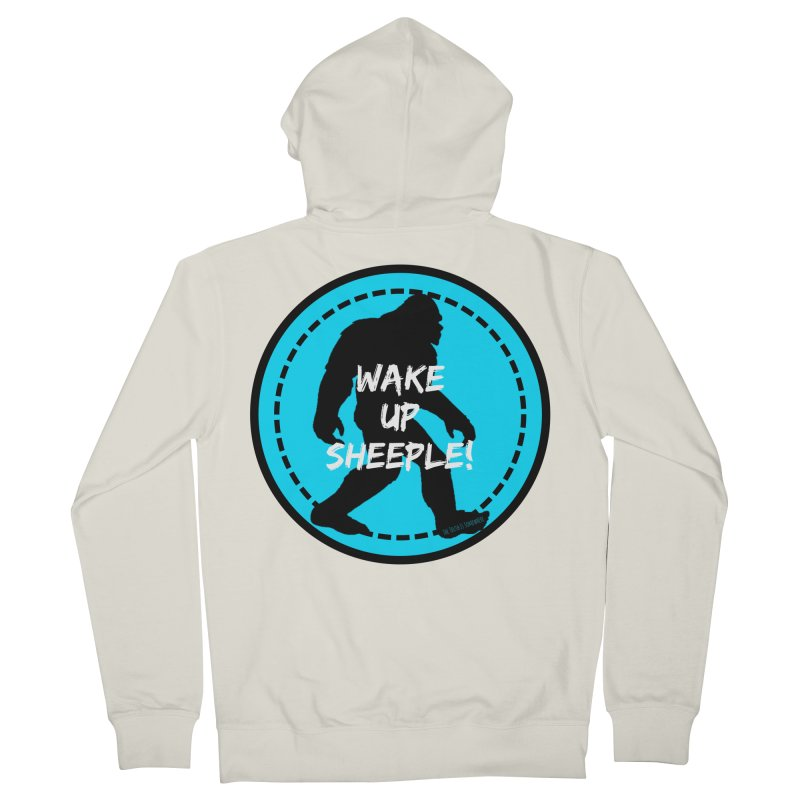 Wake Up Sheeple! Women's French Terry Zip-Up Hoody by The Truth Is Somewhere