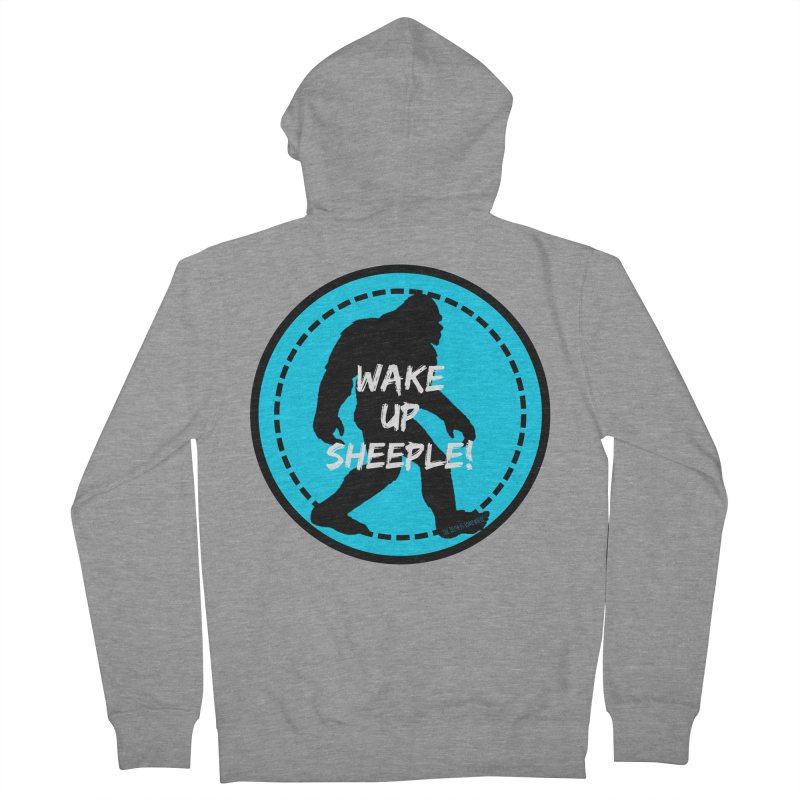 Wake Up Sheeple! Men's French Terry Zip-Up Hoody by The Truth Is Somewhere