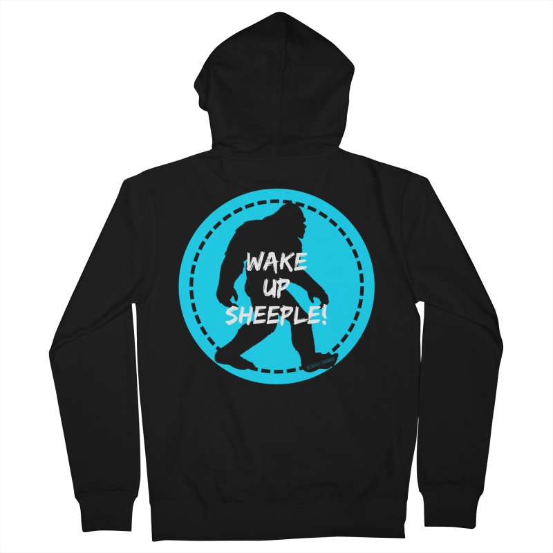 Wake Up Sheeple! Men's Zip-Up Hoody by The Truth Is Somewhere
