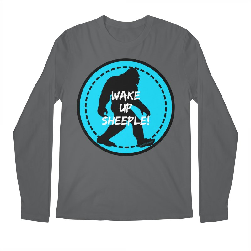 Wake Up Sheeple! Men's Longsleeve T-Shirt by The Truth Is Somewhere