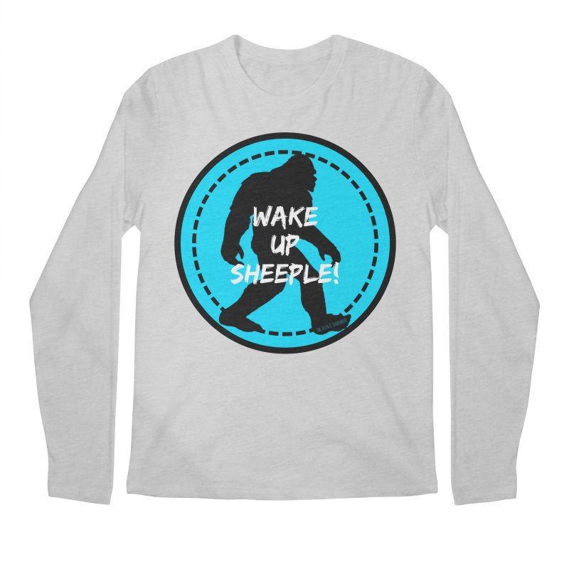 Wake Up Sheeple! Men's Regular Longsleeve T-Shirt by The Truth Is Somewhere