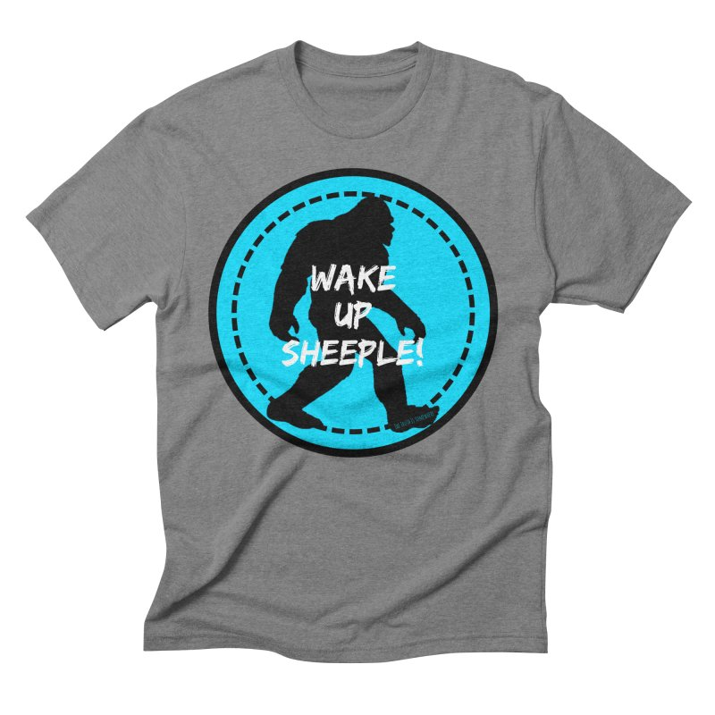 Wake Up Sheeple! Men's T-Shirt by The Truth Is Somewhere
