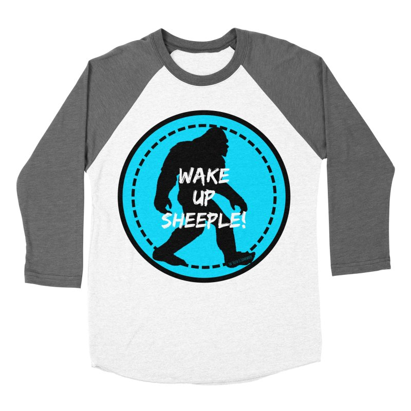 Wake Up Sheeple! Women's Baseball Triblend Longsleeve T-Shirt by The Truth Is Somewhere