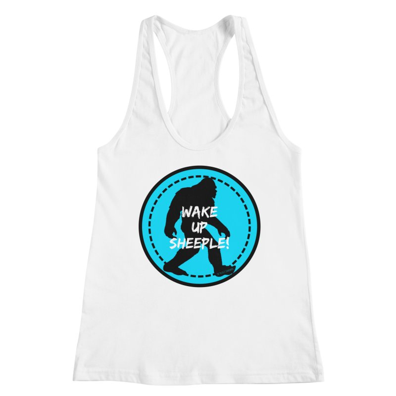 Wake Up Sheeple! Women's Racerback Tank by The Truth Is Somewhere