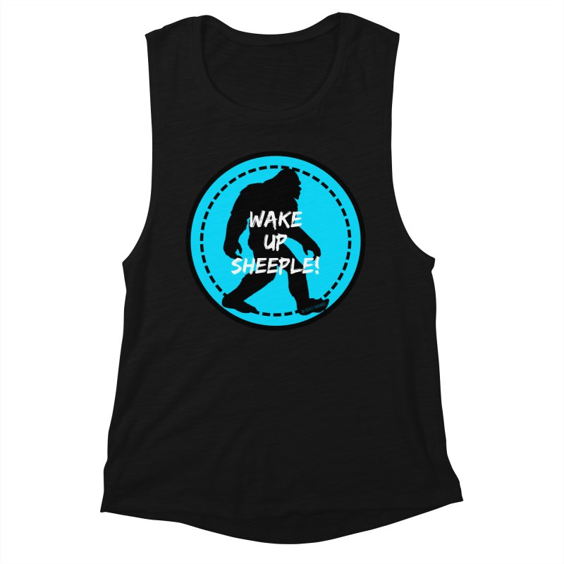 Wake Up Sheeple! Women's Tank by The Truth Is Somewhere
