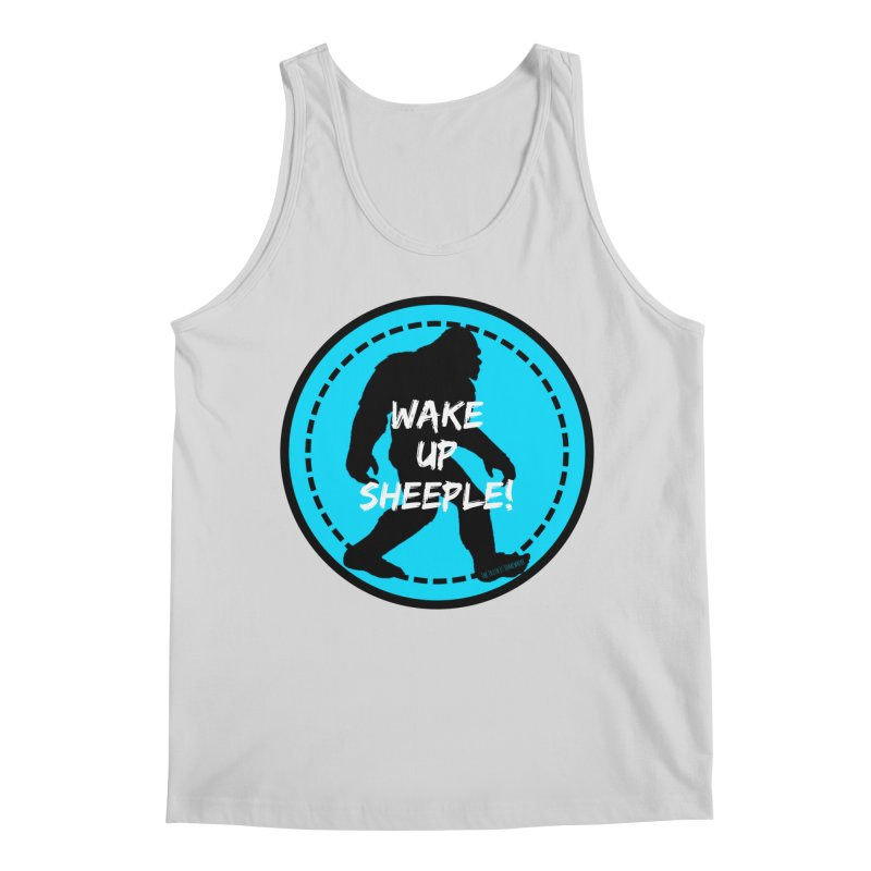 Wake Up Sheeple! Men's Regular Tank by The Truth Is Somewhere