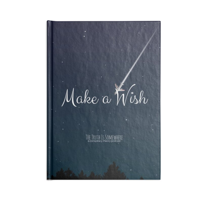 Make a Wish Accessories Blank Journal Notebook by The Truth Is Somewhere