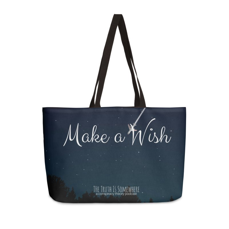 Make a Wish Accessories Weekender Bag Bag by The Truth Is Somewhere