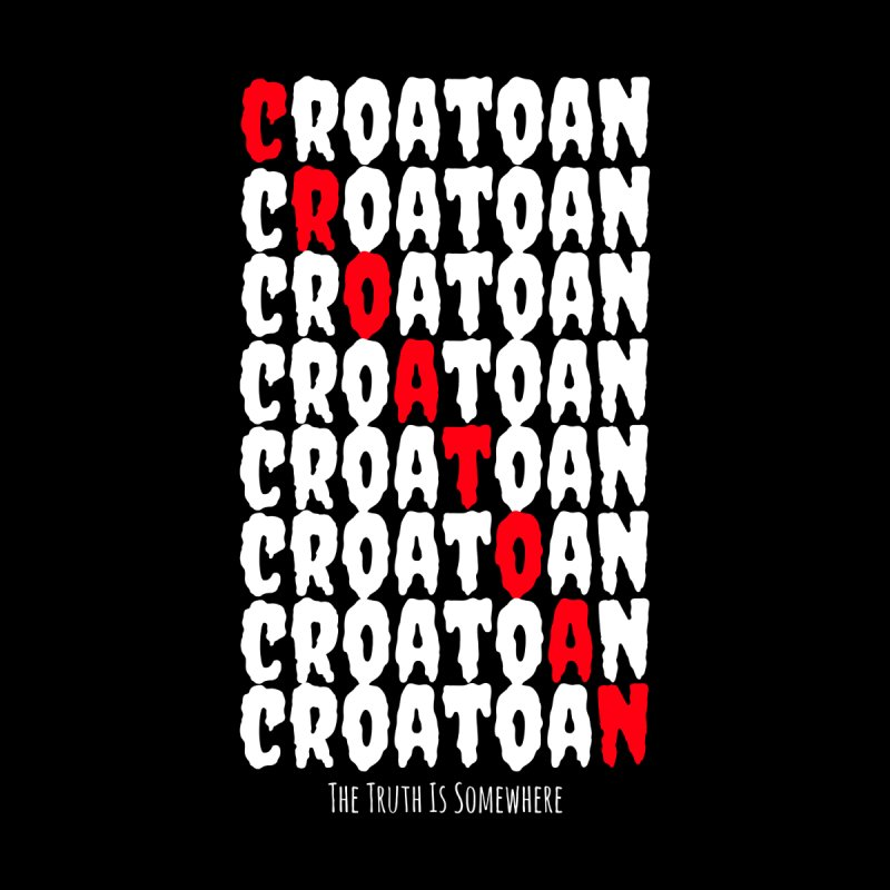 Croatoan Dark Men's Tank by The Truth Is Somewhere