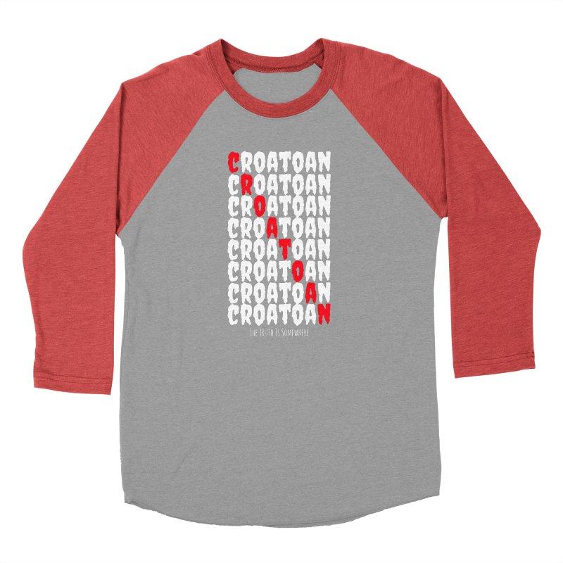 Croatoan Dark Women's Longsleeve T-Shirt by The Truth Is Somewhere