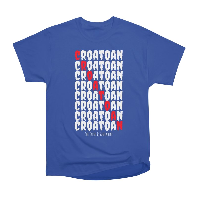 Croatoan Dark Men's Heavyweight T-Shirt by The Truth Is Somewhere