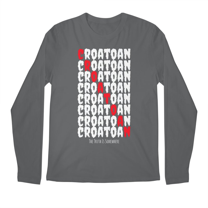 Croatoan Dark Men's Longsleeve T-Shirt by The Truth Is Somewhere