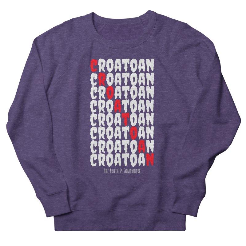 Croatoan Dark Women's Sweatshirt by The Truth Is Somewhere