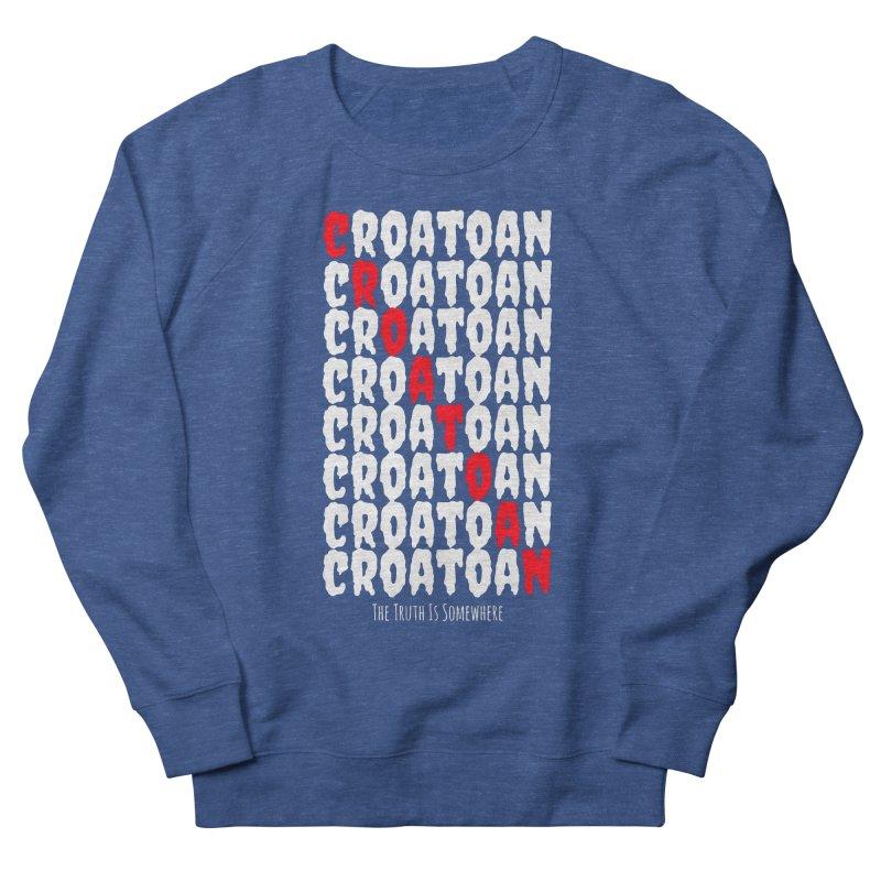 Croatoan Dark Men's Sweatshirt by The Truth Is Somewhere