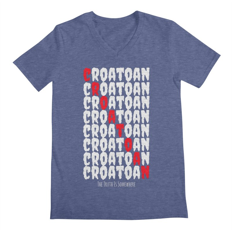 Croatoan Dark Men's Regular V-Neck by The Truth Is Somewhere