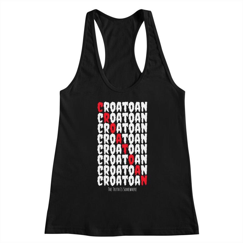 Croatoan Dark Women's Tank by The Truth Is Somewhere
