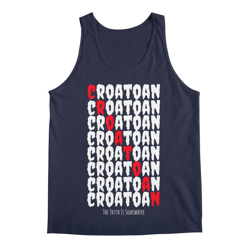 Croatoan Dark Men's Regular Tank by The Truth Is Somewhere