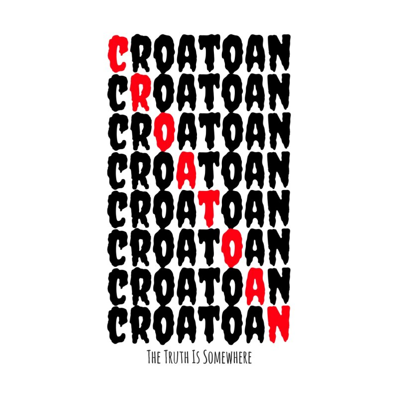Croatoan Light Accessories Notebook by The Truth Is Somewhere
